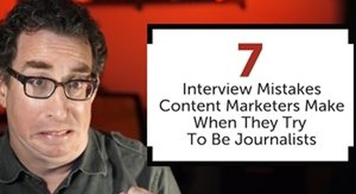 Avoid These Seven Classic On-Camera Interview Mistakes