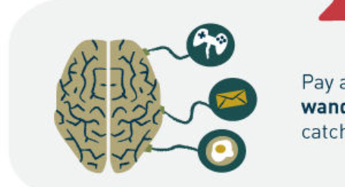 Nine Ways to Focus a Wandering Mind [Infographic]