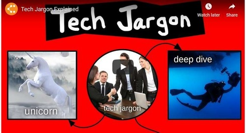 How to Speak Tech Jargon: A Hilarious Guide [Video and Flowchart]
