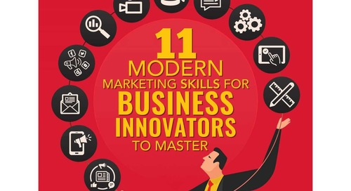11 Important Skills for Modern Marketers [Infographic]
