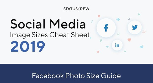 Social Media Image Sizes in 2019 [Infographic]