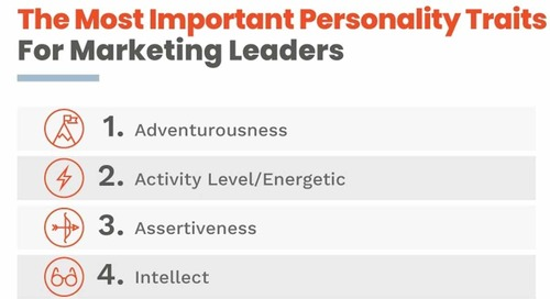 The Personality Traits of Top Digital Marketing Influencers