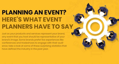 Event Planning: What You Need to Know [Infographic]