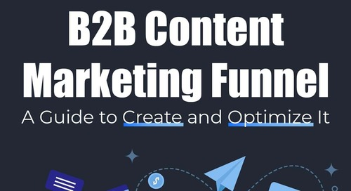 A Guide for Creating and Optimizing B2B Content Marketing Funnels [Infographic]