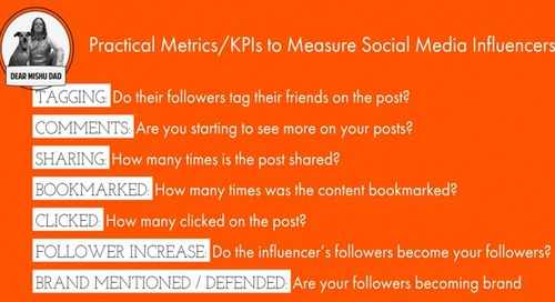 Eight Practical Yet Powerful KPIs for Measuring Influencer Performance