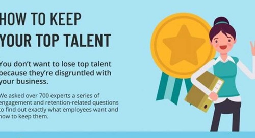 Employee Retention: How to Keep Your Top Talent [Infographic]