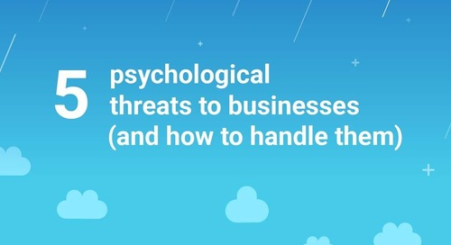 Five Psychological Threats to Businesses (And How to Handle Them) [Infographic]