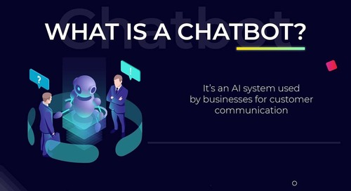 Chatbot Advantages and Challenges [Infographic]