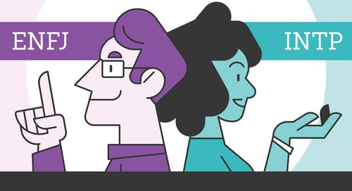Myers-Briggs Personality Types in Business: Traits and Ideal Team-ups [Infographic]