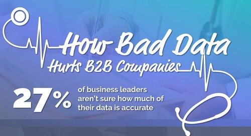 How Bad Data Hurts B2B Companies [Infographic]