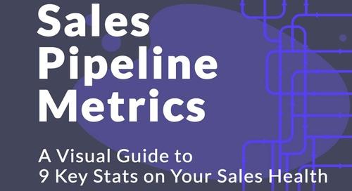 Nine Key Sales Pipeline Metrics for Healthy Sales [Infographic]