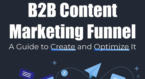 How to Create and Optimize Content Marketing for the B2B Funnel [Infographic]