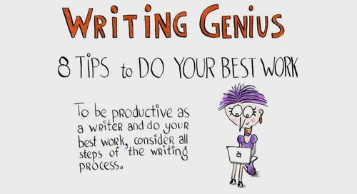 8 Tips for Discovering Your Writing Genius [Infographic]