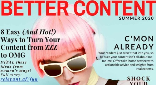 8 Sizzling Content Tactics to Steal From Women's Magazines [Infographic]