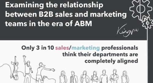 The B2B Marketing and Sales Relationship in the Age of ABM [Infographic]