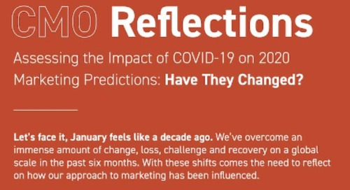 Marketing Experts Reflect on Their 2020 Predictions [Infographic]
