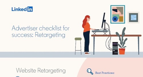 Retargeting on LinkedIn: What B2B Marketers Need to Know [Infographic]