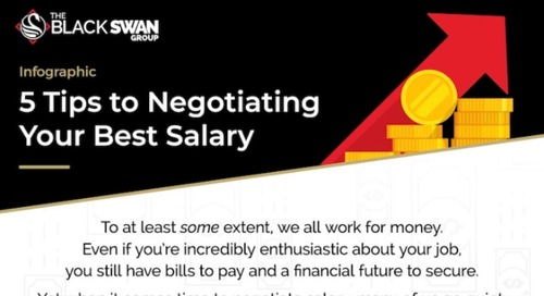 Five Tips for Negotiating a Better Salary [Infographic]