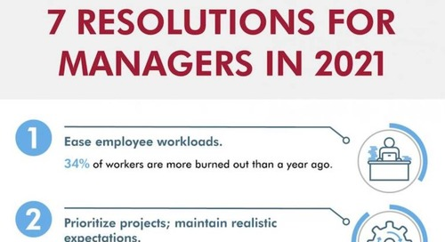 Seven Resolutions Managers Can Make for 2021 [Infographic]