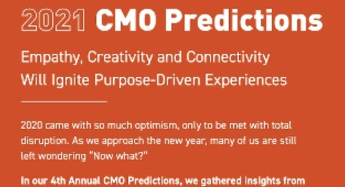 CMO Predictions for 2021 [Infographic]