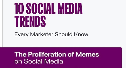 10 Social Media Trends Marketers Should Be Watching [Infographic]