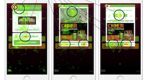 Neurometric Study: The Effectiveness of Embedded vs. Interstitial Mobile Ads [Infographic]
