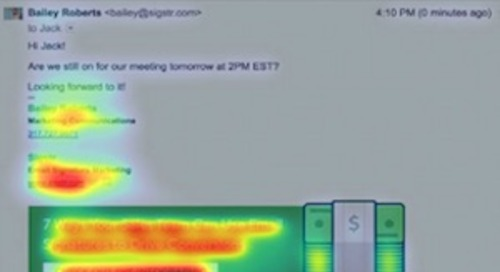 Eye-Tracking Study: Email-Signature Banner Effectiveness