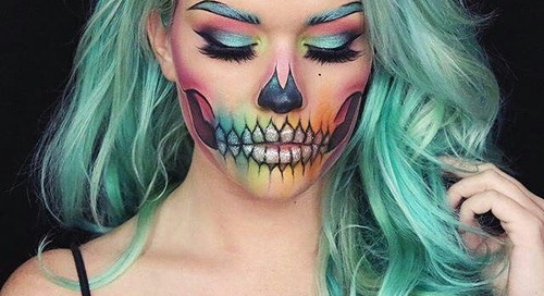 Mengintip Enam Inspirasi Makeup untuk Halloween Party