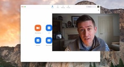 Member Minute: Record Yourself in Zoom