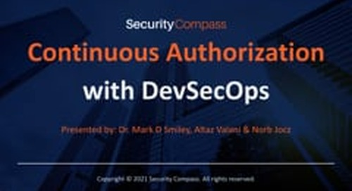 Continuous Authorization with DevSecOps