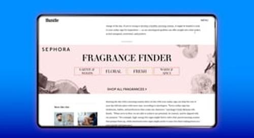 BDG Media / Sephora / Edge to Edge Product Finder