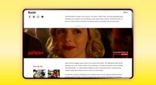 BDG Media / Sabrina / Edge to Edge Video Parallax Unit