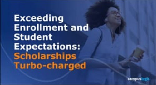 Exceeding Enrollment and Student Expectations Scholarships Turbo-charged
