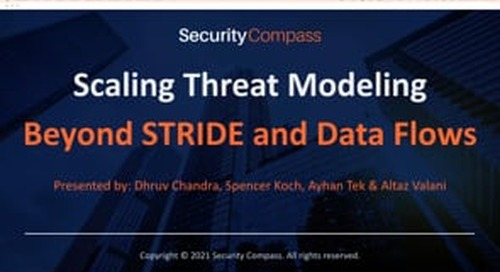 Scaling Threat Modeling Beyond STRIDE and Data Flows