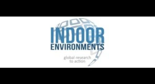 Indoor Environments Show: Global Research to Action