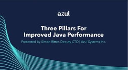 Webinar: Three Pillars for Improved Java Performance
