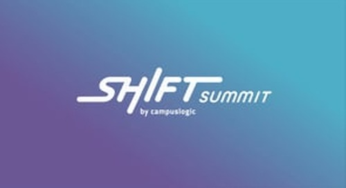 Shift Summit 2021 Opening Keynote | The Surprising Root Cause Behind the Top Three Higher Ed Challenges of 2021