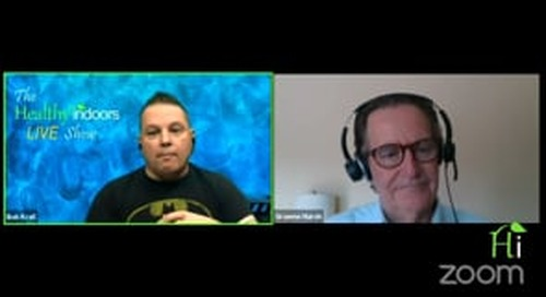 Healthy Indoors LIVE Show 7-22-21: Probiotic Cleaning with guest Graeme Marsh