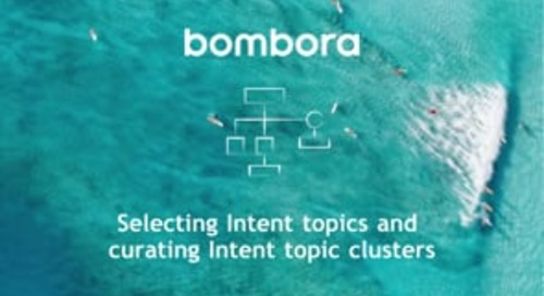 Bombora - Intent topic curation best practices