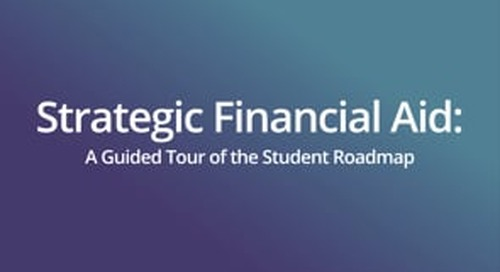 Shift Summit 2021 | Strategic Financial Aid: A Guided Tour of the Student Roadmap
