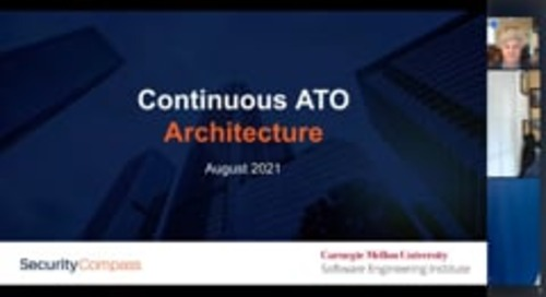 Learn to Implementa cATO Architecture