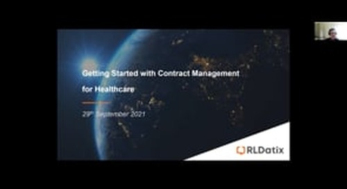 Getting Started with Contract Management for Healthcare