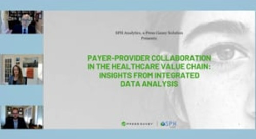 Payer-Provider Collaboration in the Healthcare Value Chain: Insights from Integrated Data Analysis