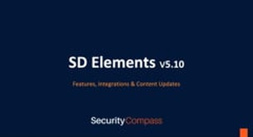 SD Elements 5.10 is here!