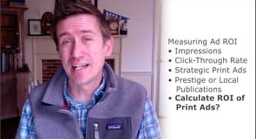 Member Minute: Calculate ROI of Print Ads