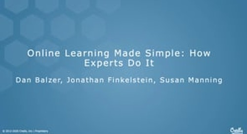 Online Learning Made Simple: How Experts Do It