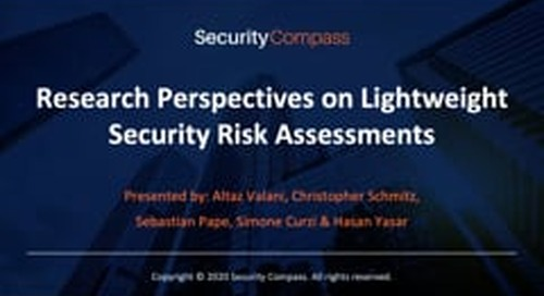 Research Perspectives on Lightweight Security Risk Assessments Using Attack Trees