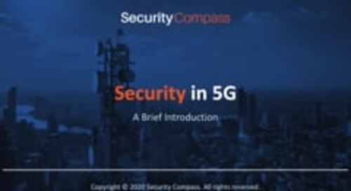 An Introduction to Security in 5G