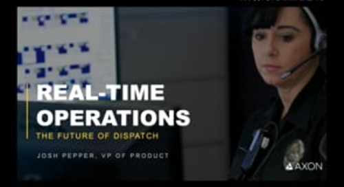 The Future of Dispatch: Real-Time Operations Webinar