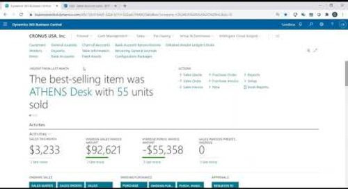 EFT Payments in Dynamics 365 Business Central